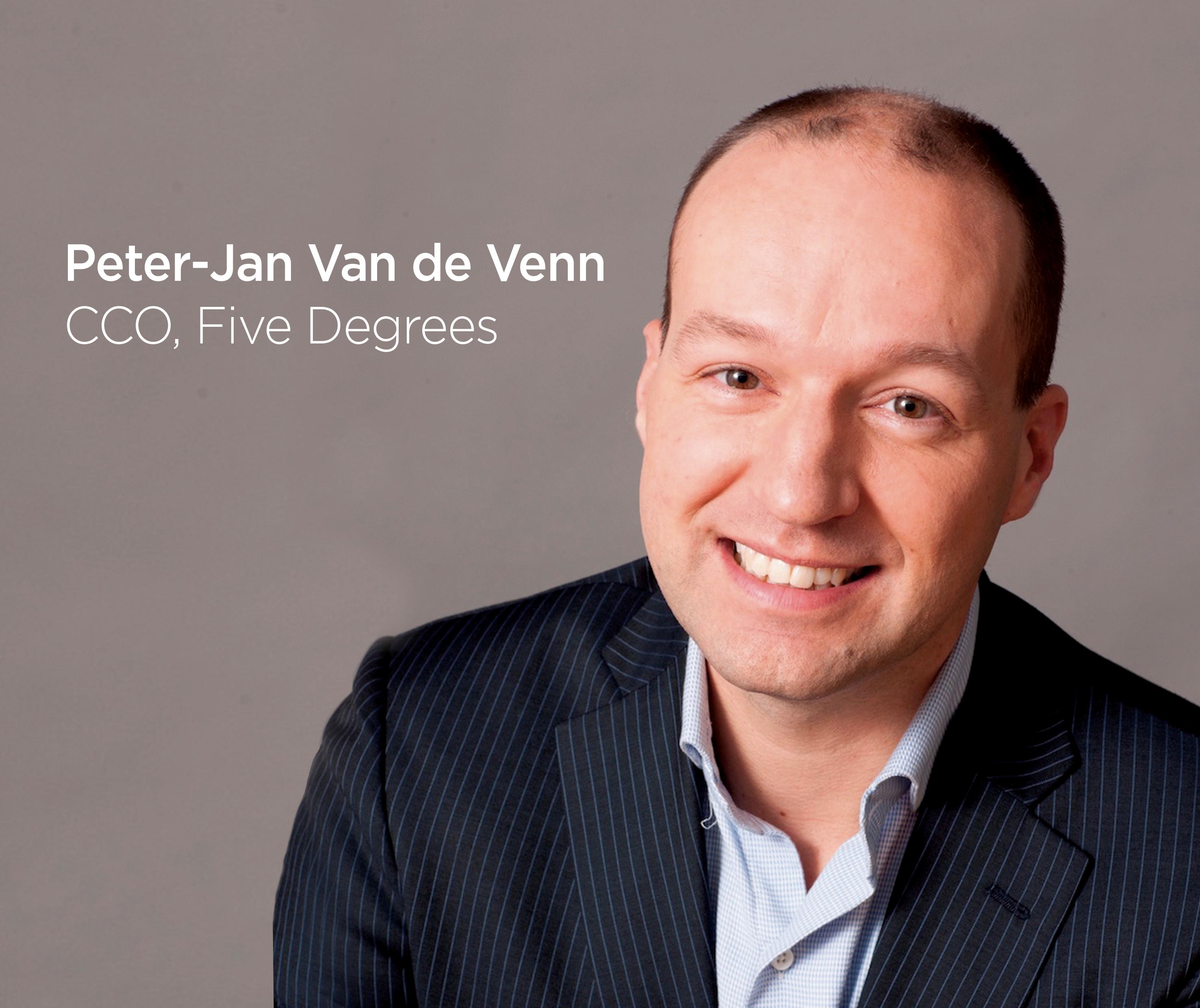 Peter-Jan Van de Venn Five Degrees CCO