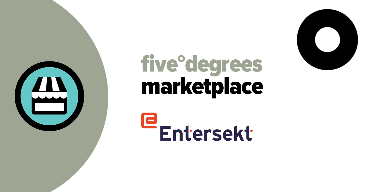 five°degrees and Entersekt partner for a new banking approach